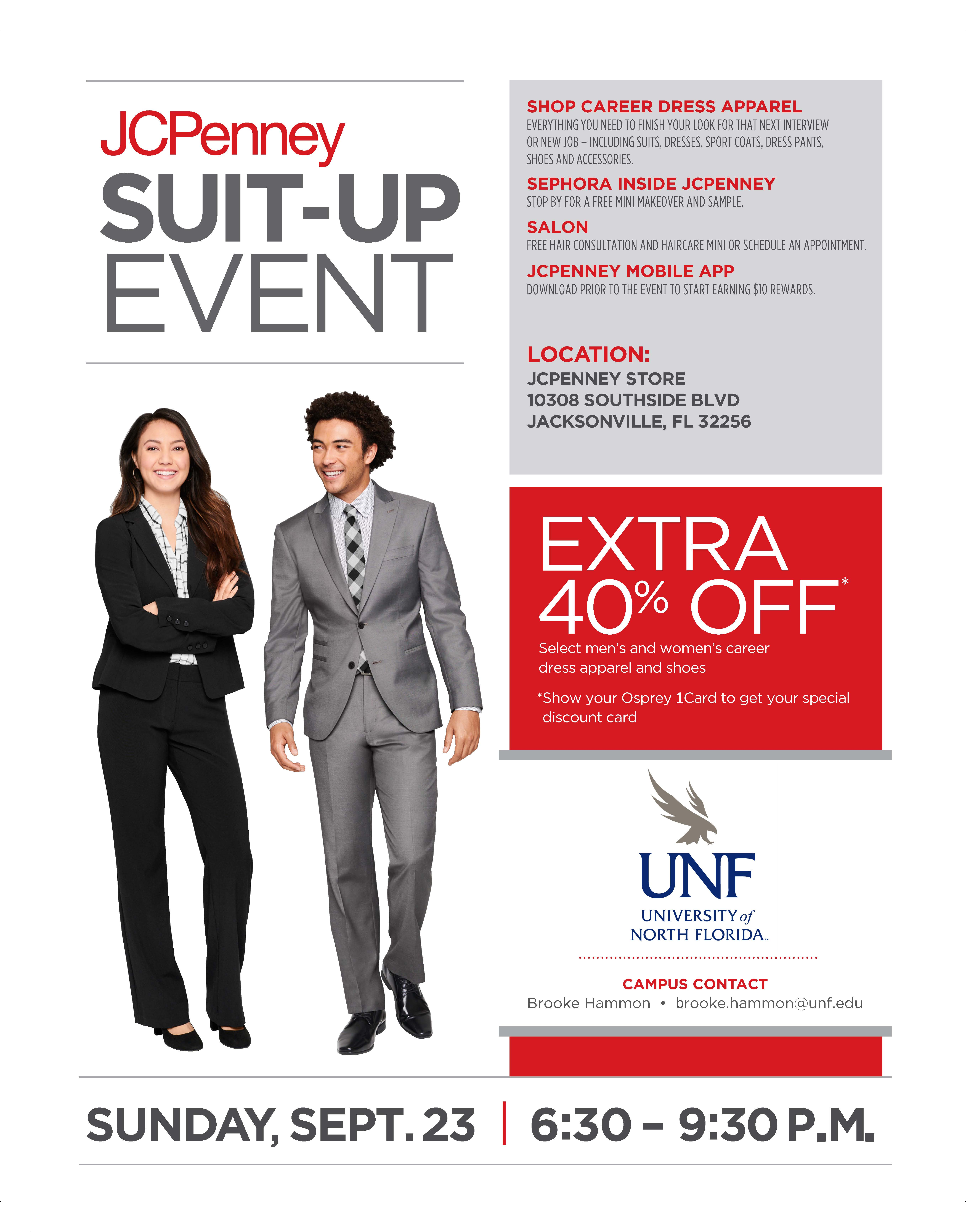 Jcpenney Suit Up Event Beta Alpha Psi Unf